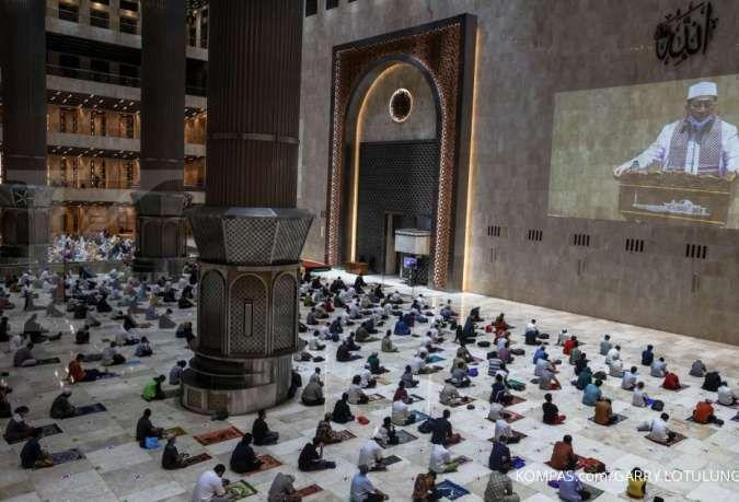 Masjid Istiqlal membatalkan pelaksanaan shalat Idul Fitri 1442 hijriah