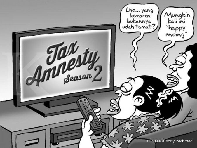 Pengamat: Rencana tax amnesty jilid 2 mirip sunset policy