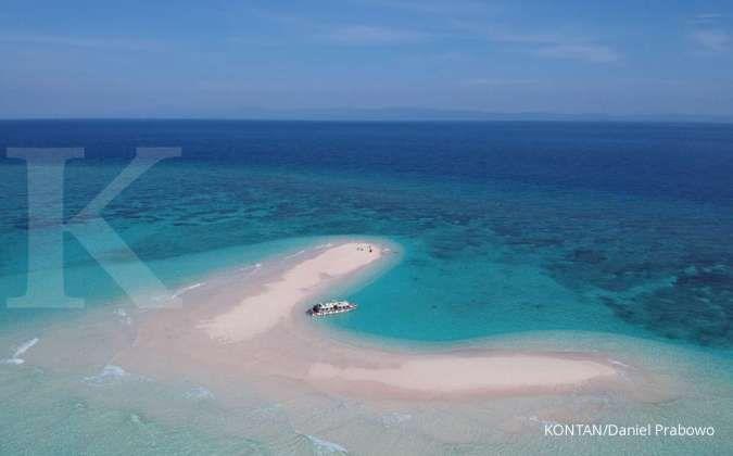 Ingin Island Hopping di Morotai? Jangan Lupa singgah dulu di Pasir Timbul