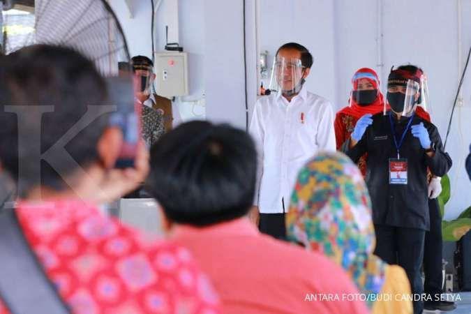 Jokowi tinjau pasar pelayanan publik di Banyuwangi