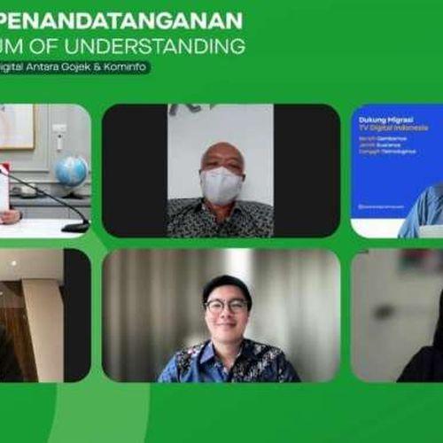 Gojek dan Kominfo Teken Nota Kesepahaman: Percepat Transformasi Digital Indonesia