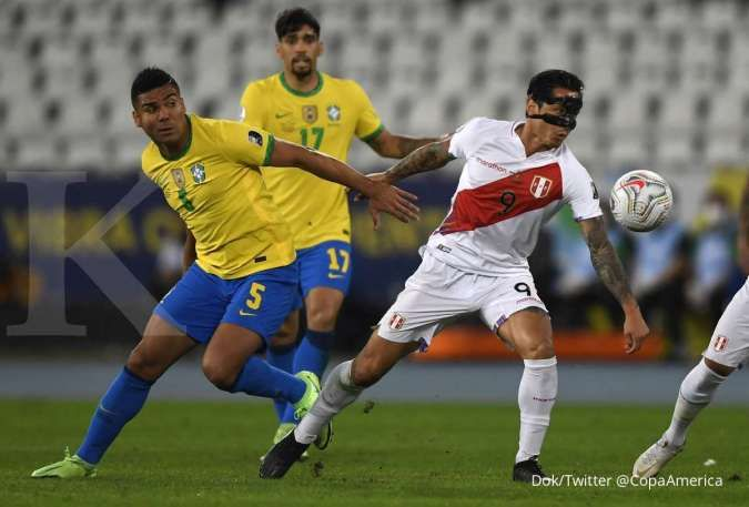5 Faktor Selecao bisa kesulitan dalam laga Argentina vs Brasil di Copa America 2021