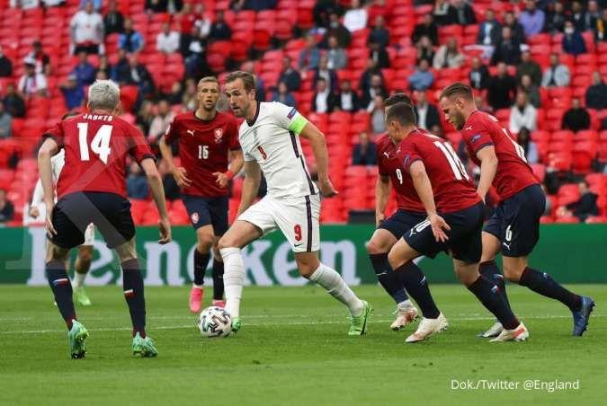 Hasil Euro 2020 Republik Ceko vs Inggris di Grup D