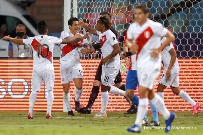 Copa America 2021 antara Kolombia vs Peru perebutan Juara 3