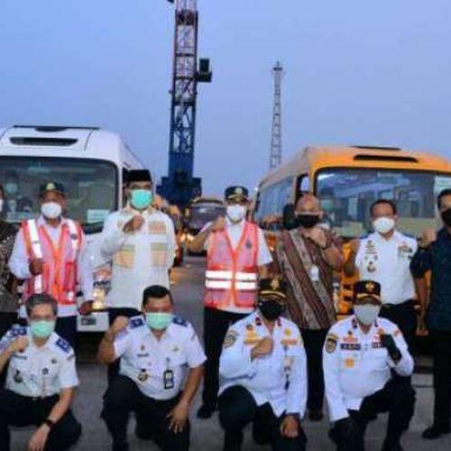 Dukung Penyelenggaraan PON XX dan Peparnas XVI di Papua, Kemenhub Kirim 428 Unit Bus