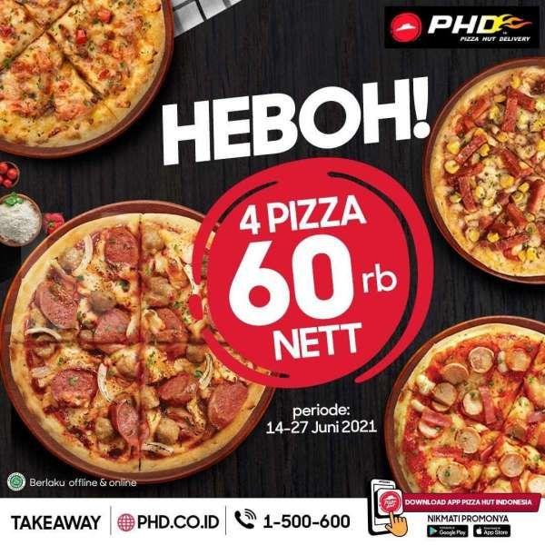 Promo Pizza Hut Delivery 15-27 Juni 2021