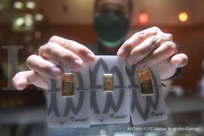 Turun Rp 4.000 per gram, harga emas hari ini (10/4) di Butik Emas Antam