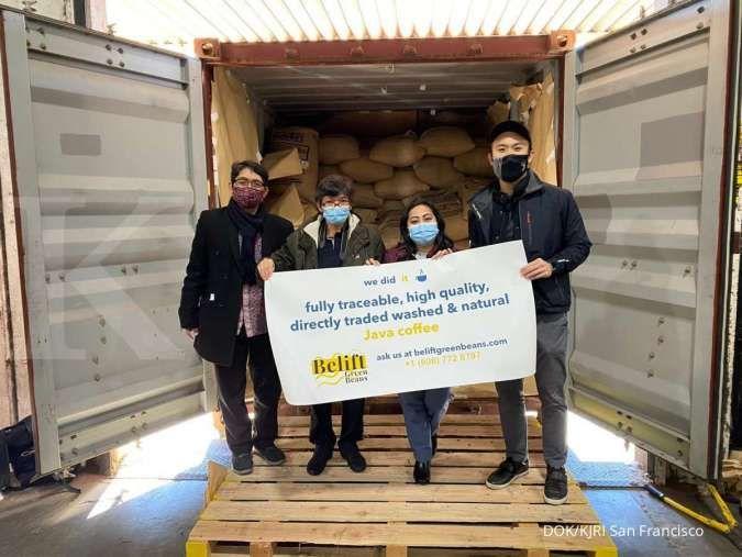 KJRI San Francisco kawal kedatangan 1 kontainer kopi arabika Jawa Timur ke AS