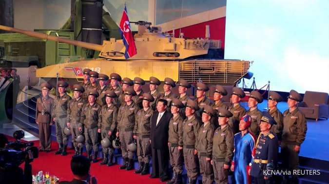 Kim Jong Un: Militer kami disiapkan untuk membela diri, bukan untuk memulai perang