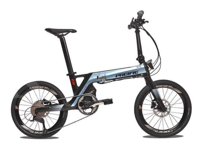 Sepeda lipat Pacific e-bike