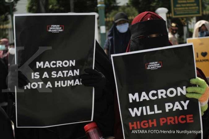 Mahfud MD ingatkan demo Presiden Prancis, harus tertib dan tak boleh merusak