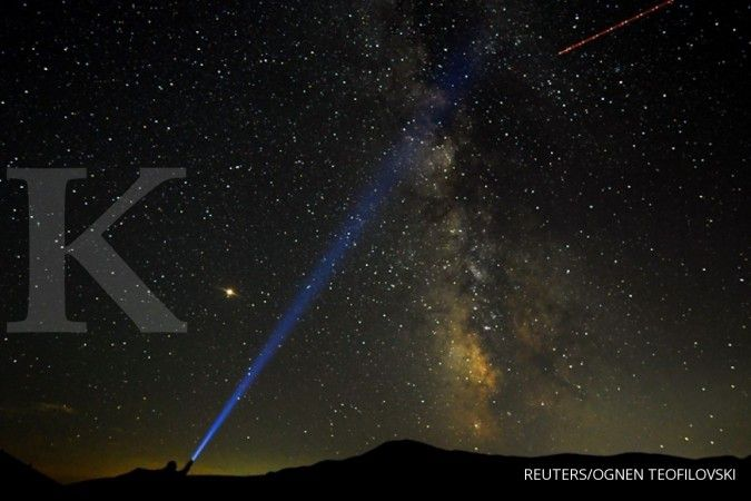 Jangan lewatkan, puncak hujan Meteor Perseids mulai malam ini di langit Indonesia