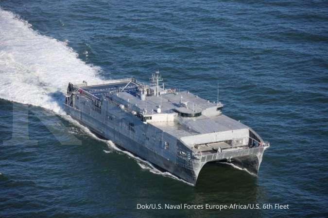 Ramaikan Laut Hitam, Angkatan Laut AS kirim satu unit kapal serbu amfibi