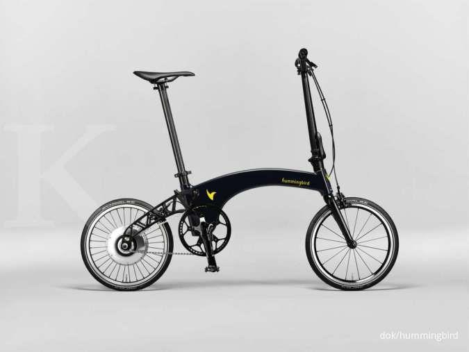 Hummingbird Electric, sepeda lipat listrik teringan di dunia, berapa harganya?