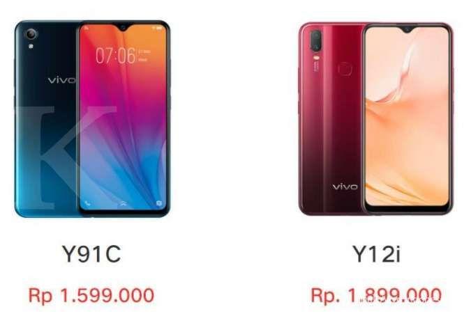 Pilihan HP Vivo harga 1 jutaan terlaris, termurah hanya Rp 1,4 jutaan
