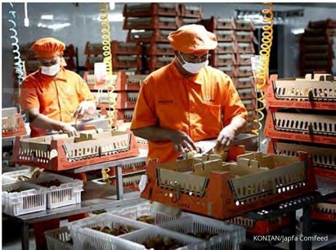 Japfa Comfeed (JPFA) bidik kenaikan penjualan hingga 15% pada 2021
