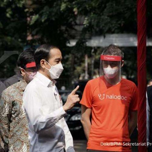 Proses Vaksinasi Drive-thru Berjalan Lancar, Presiden Jokowi Minta Diperluas untuk Percepat Vaksinasi Covid-19