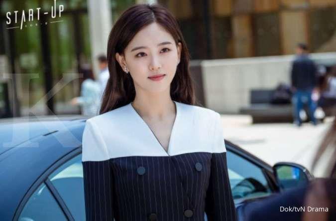 Perubahan penampilan Kang Ha Na di drakor Start-Up, drama Korea terbaru Suzy di tvN.