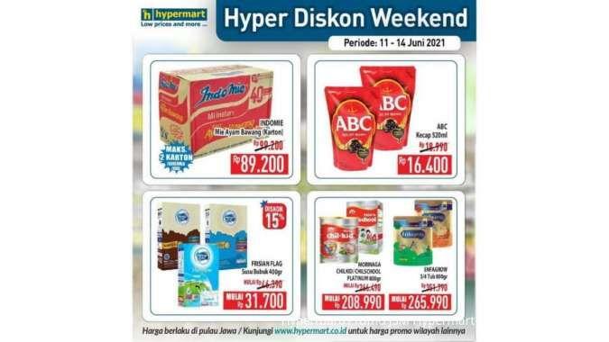 Promo JSM Hypermart 11-14 Juni 2021, Hyper Diskon Weekend!