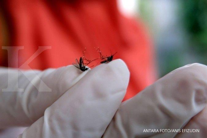 Gigitan nyamuk bisa menyebabkan gejala malaria, salah satunya adalah demam tinggi.