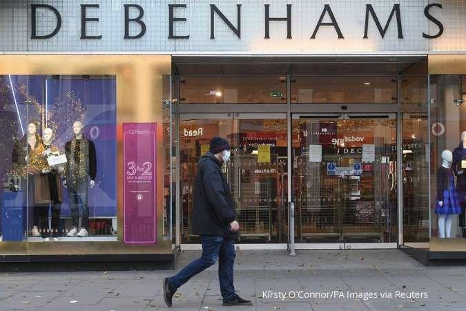 Toko-toko dibuka, penjualan ritel Inggris meningkat