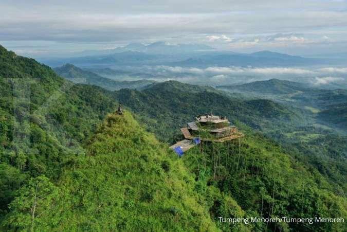 Tumpeng Menoreh, kuliner sambil menikmati 3 gunung di Jawa Tengah