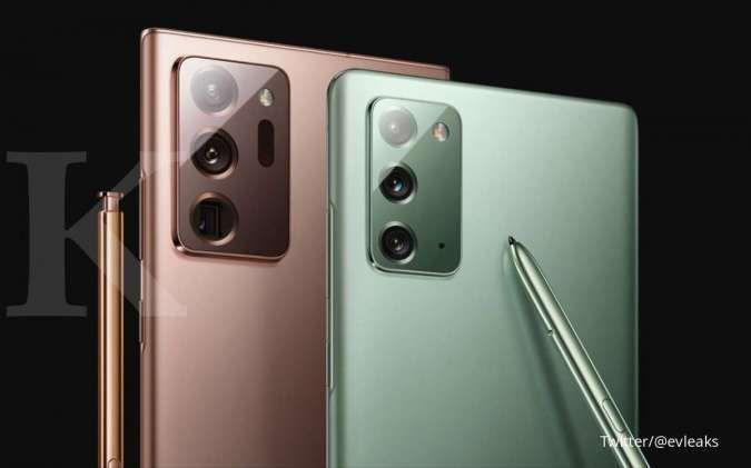 Bocoran spesifikasi Samsung Galaxy Note 20 dan Note 20 Ultra, siap rilis 5 Agustus