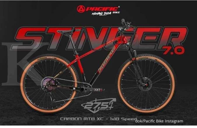 Asik! Baru diluncurkan, harga sepeda gunung Pacific Stinger 7.0 bersahabat di kantong