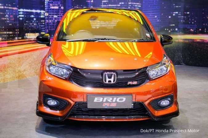 Penjualan Honda Brio laris manis di Ajang IIMS Hybrid 2021