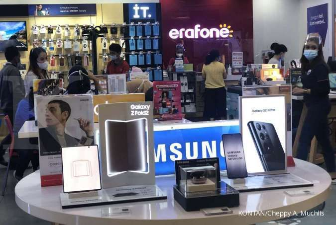 Penjualan gawai masih menjanjikan, simak rekomendasi saham Erajaya (ERAA)