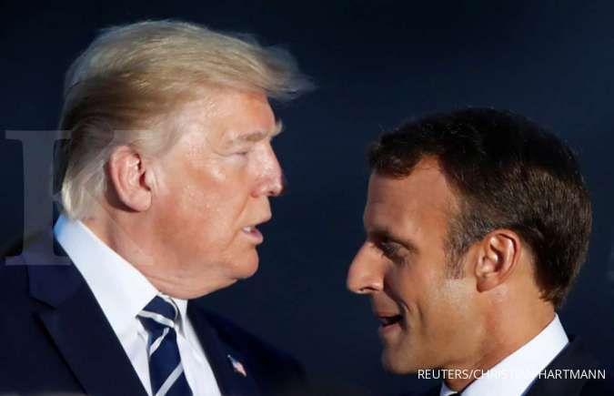 Waduh, AS tabuh genderang perang dagang dengan Prancis