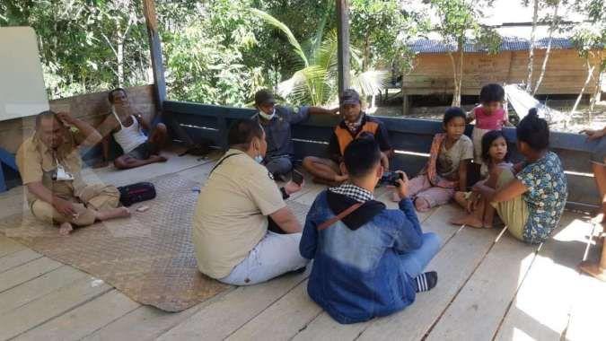Fasilitas pendidikan dibangun, warga Suku Anak Dalam bisa belajar setiap hari