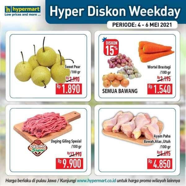 Promo Hypermart weekday 4-6 Mei 2021
