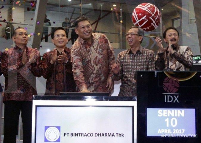 Bintraco Dharma kantongi Rp 260 miliar dari IPO
