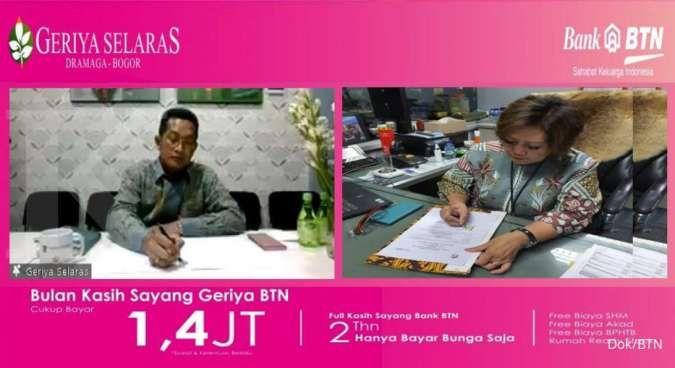 Bank BTN gandeng Geriya Selaras gelar program hari kasih sayang
