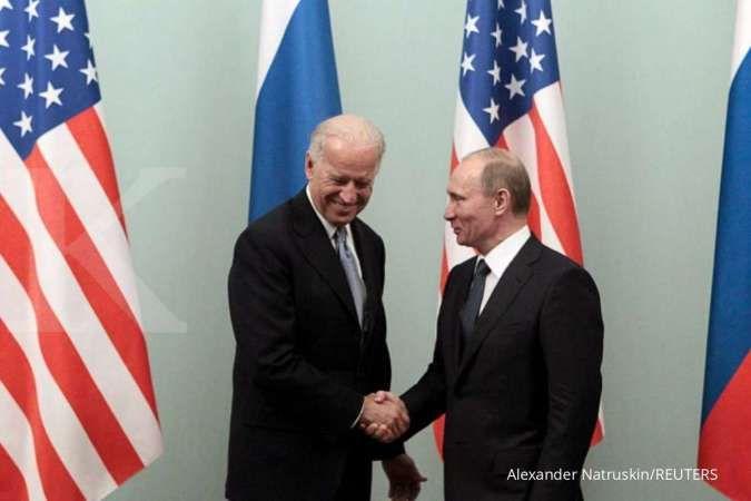 Sepakat dengan Putin, Biden sebut hubungan AS-Rusia ada di titik terendah