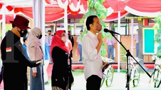 Jokowi: Pelajar yang sudah divaksin Covid-19 bisa kembali lakukan PTM