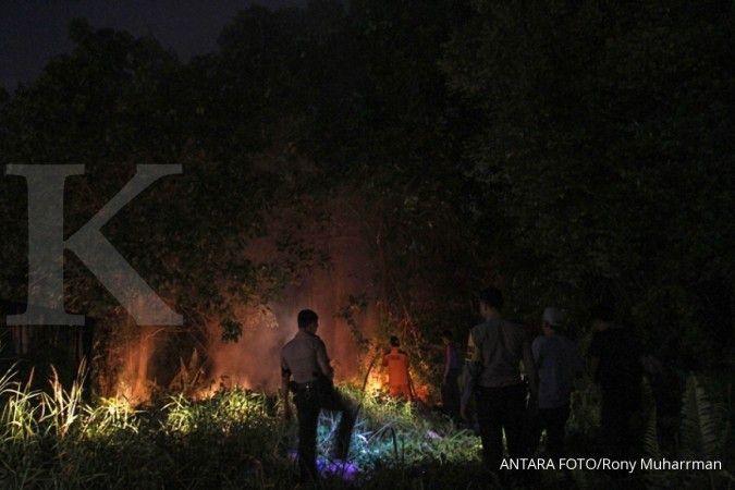 Jumlah titik api di Kalimantan Barat bertambah jadi 914 hotspot