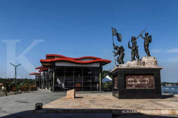 Berkaraoke ria di Museum Perang Dunia II dan Trikora Morotai