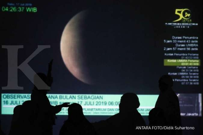 Catat, berikut jadwal gerhana bulan hari ini 30 November 2020