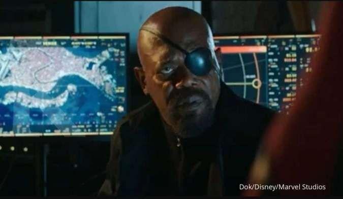 Samuel L. Jackson kabarnya kembali menjadi Nick Fury di series baru Disney+ produksi Marvel Studios.