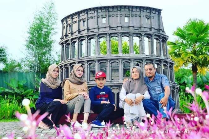Small World Purwokerto, tempat wisata selfie yang punya banyak replika ikon dunia