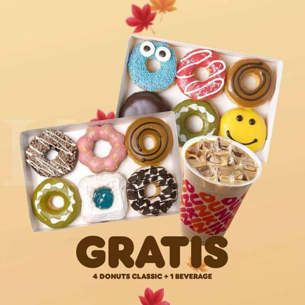Promo Dunkin Donuts
