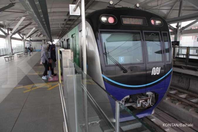 Kkereta Moda Raya Terpadu (MRT). KONTAN/Baihaki