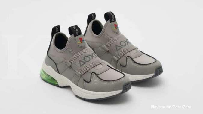 Sony luncurkan sneakers anak bertema Playstation, harganya Rp 600 ribuan