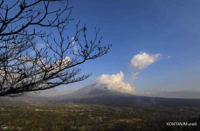BPBD Kabupaten Magelang antisipasi kebakaran vegetasi di lereng Gunung Merapi