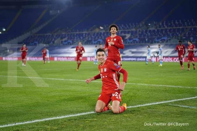 Hasil pertandingan Lazio vs Bayern Munchen di Liga Champions
