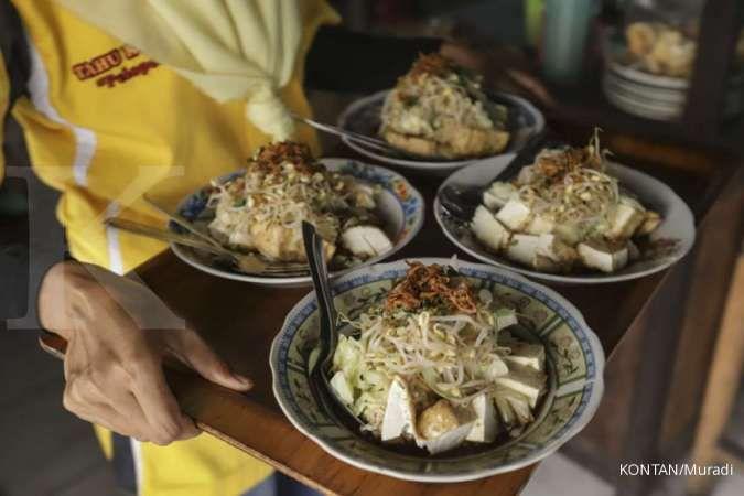 Selera makan tergelitik kupat tahu nan gurih di Mungkid