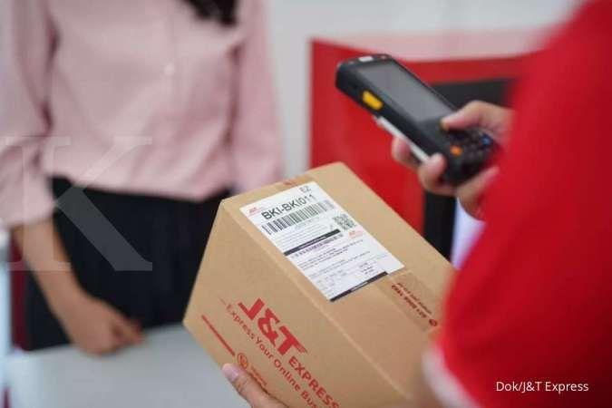 Transaksi pengiriman J&T Express Harbolnas 10.10 melesat hingga 13,5 juta paket