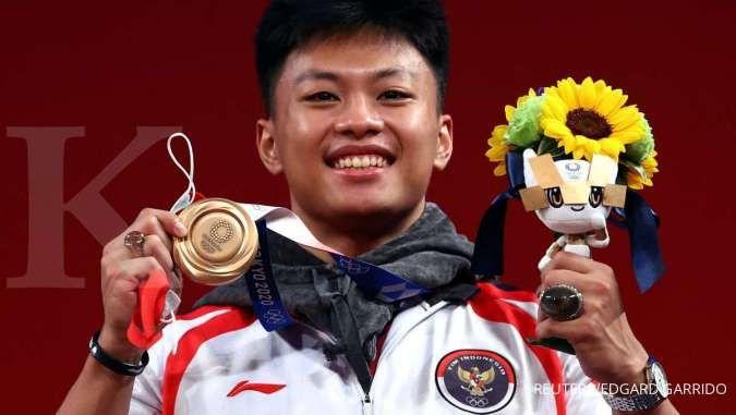 Olimpiade Tokyo 2020: Atlet angkat besi Rahmat Erwin Abdullah sumbang medali perunggu